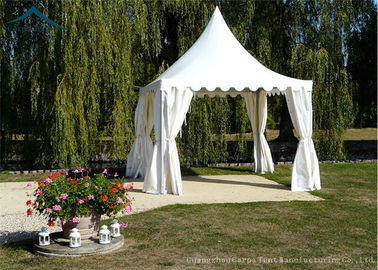 China Water Resistant Pagoda Tents White PVC Fabric Party Banquet Tent factory