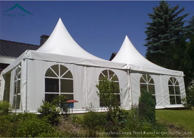 China Stable Small 3x3m Outside Party Tents Two White Windows Sidewalls factory
