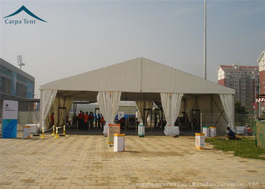 China Clear Span Fabric Structures Outdoor 20m By 30m Canopy White For Parties distributor