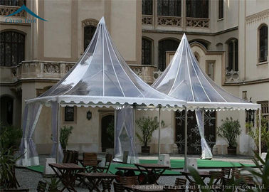 China Small Pagoda Arabic Style Clear Event Tent For Business Activities factory