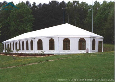 China Wedding / Party Custom Event Tents Different Shape With Beautiful Decoration distributor