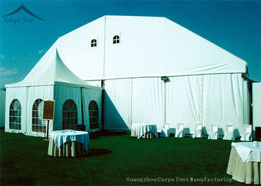China Popular Aluminum Party Pavilion Clearspan Structure Polygon Tent 25m*50m Shelter factory
