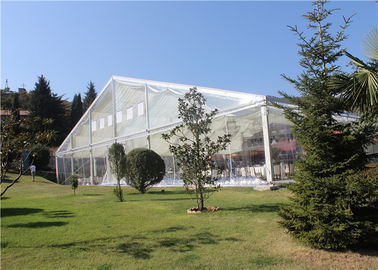 China Transparent  Aluminum Customized Canopy Tent 10m * 15m With Clear Top / Side factory