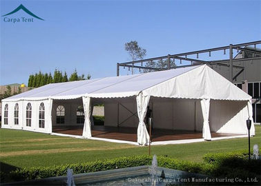 China Clear European Large Sports Tents 15m * 25m With Clear Windows UV - Resistant factory