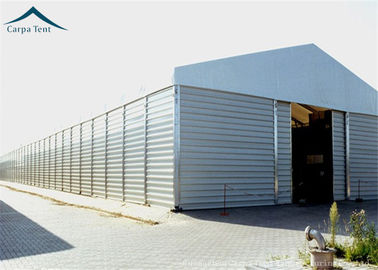 China Aircraft Hangar Temporary Warehouse Building With Heavy Duty Materials 10m * 20m distributor