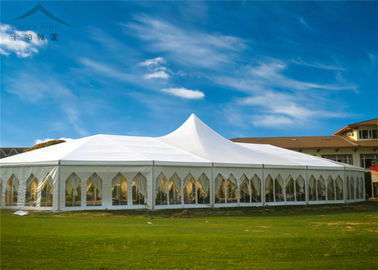 China Flexible And Luxurious Euro Mixed Wedding Marquees For Outdoor Events distributor