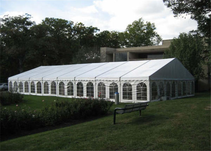 Colorful Decoration Canopy 20m * 20m Clear Span Structure Tent For Party Banquet