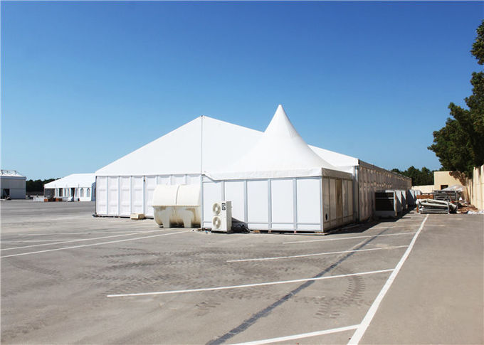 European Style Strong Snow Loading Winter Marquee Tents With ABS Hard Wall