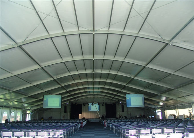 Customized Permanent Dome Roof Glass Wall Tent For Wedding Church