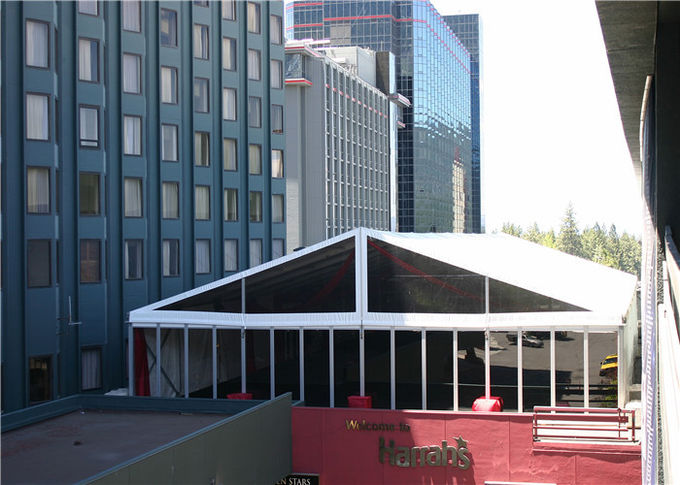 High Standard 18m By 30m Advertised Custom Event Tents With ABS Glass Wall