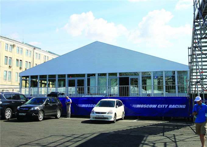 20m * 20m Large Temporary Outdoor Glass Wall Tents Exhibition Marquee