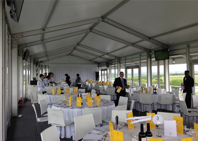 Widely Application ClearSpan Structure Glass Wall Event Party Exhibition Tent