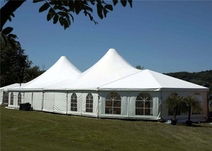 Fireproof Cover Marquee Tents Hop - Dip Galvanized Connectors 0.5kn/sqm