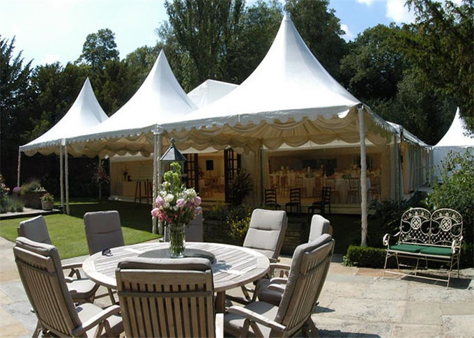 2040 Pvc Pagoda Party Tent 6m 6m Gazebo Canopy With