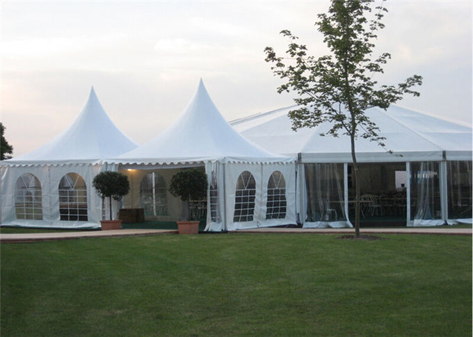 Custom High Peak Pagoda Tents Marquee Tent For Wedding Golf Events