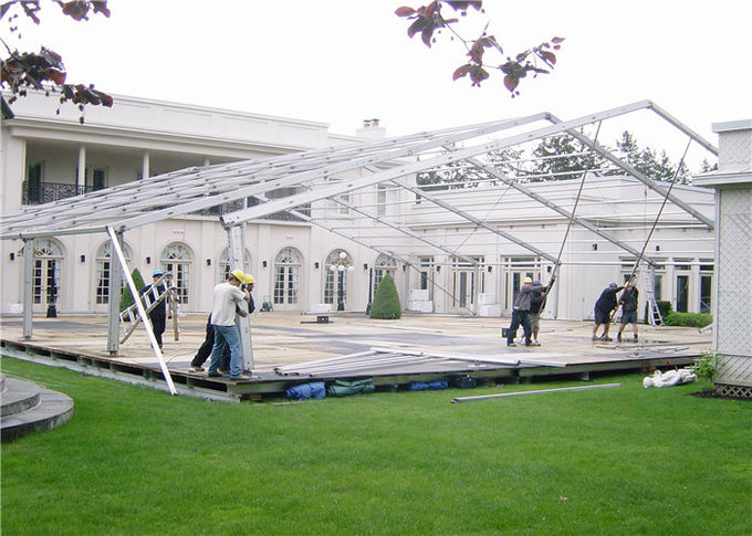 Custom Size 300 People Garden Party Tent For Commerical Meeting