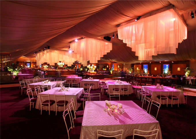 Customized Polygon Marquee Auminum Material Party Tent For Wedding