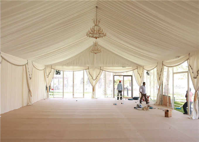 Great Peak 12m By 24m Durable Event Marquee Tents For Party Banquet Exhibition