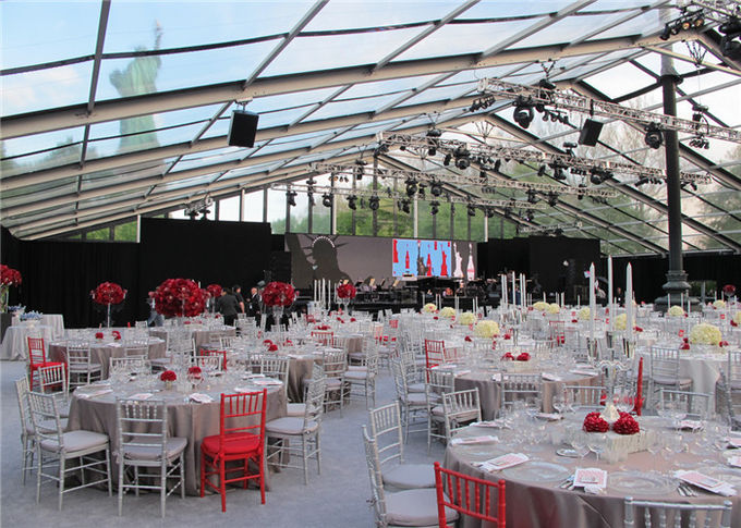 Romantic Water Proof Outdoor Party Tents Over 300 People For Banquet