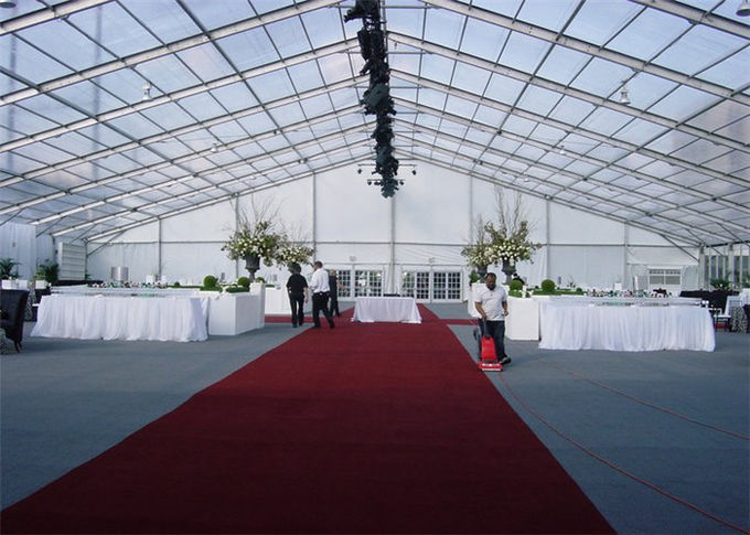 Durable Temporary Elegant Canopy Outdoor Party Tents Aluminium Structure 20m X 30m