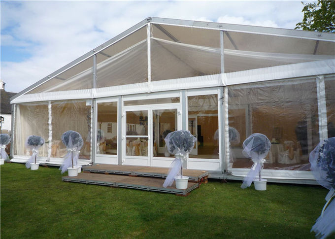 Aluminium 500 People Outdoor Steel Outdoor Party Tents With Anti UV PVC