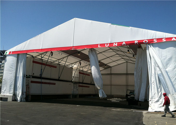Resist Bad Weather Outdoor Sports Tents With Clearspan Structure