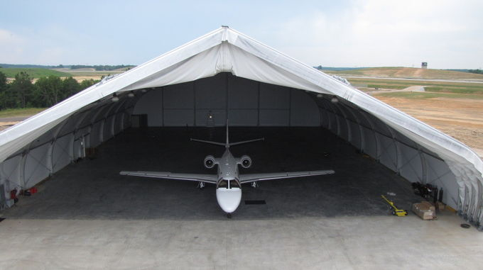 China Temporary Outdoor Aircraft Hangar Durable 30m x 50m Fabric Tent Wind Resistant supplier & Outdoor Aircraft Hangar Durable 30m x 50m Fabric Tent Wind Resistant