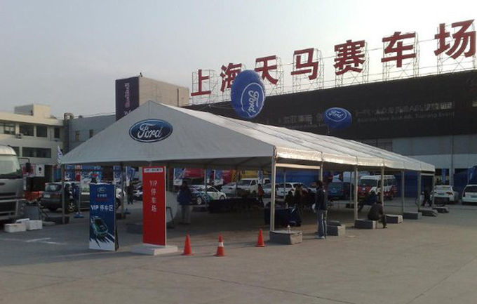 Water Fire Proof  Car Show Exhibition Tents Fabric Structure Environmentally