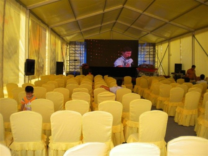 Aluminum Structure 15m Width Outdoor Event Tent For Big Trade Show, Waterproof Canopy