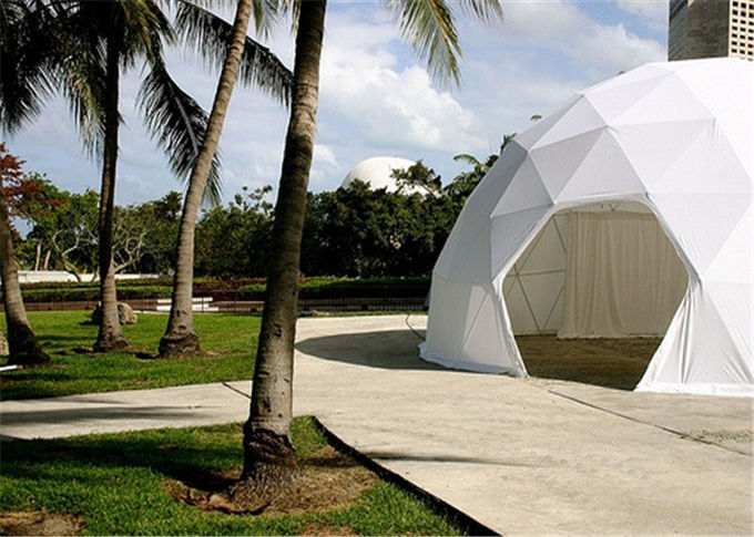 Modular Frame Geodesic Dome Shelter  8m Diameter Party Ceremony