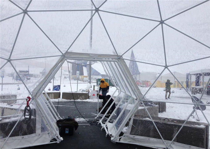 Semi permanent 10m diameter geodesic dome tent party for Semi permanent tents