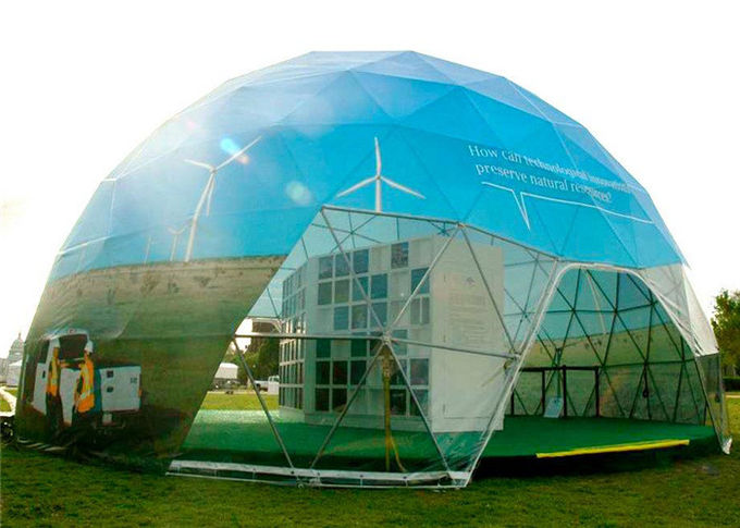 Semi Permanent 10m Diameter Geodesic Dome Tent Party