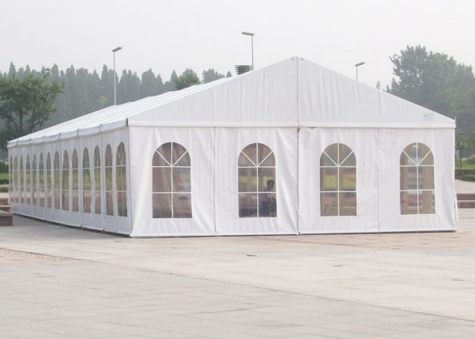 White Carpa Tent For Beijing Hyundai Motor Company / New Car Launch Event