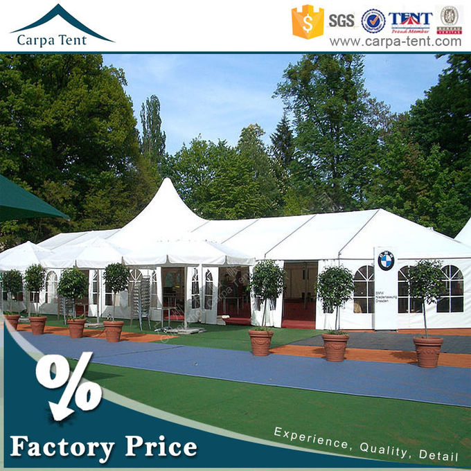 300 Seater Fireproof European Large Wedding Tents / Outdoor Garden Party Tent