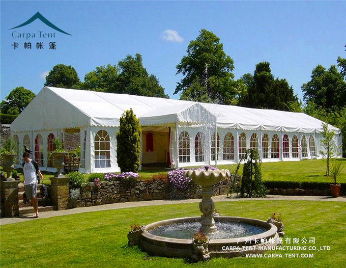 Environmentally Anti - Fungus Large Wedding Tents For Indian Market