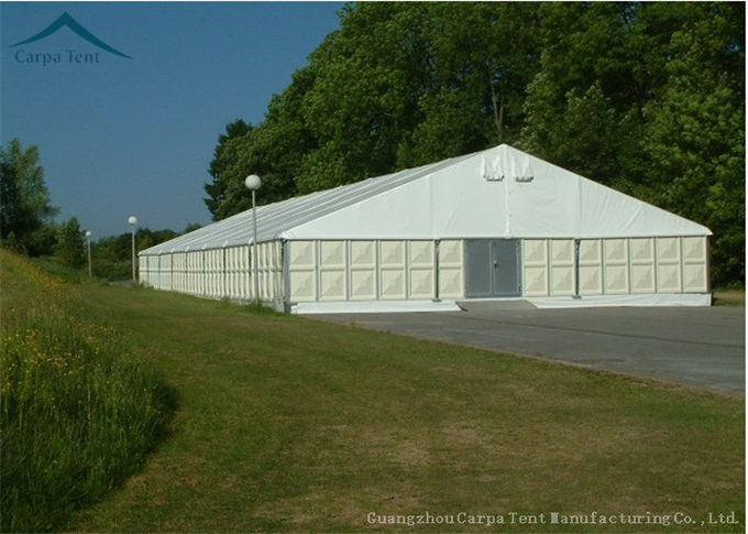 White Aluminium Frame Tents For Outdoor Events ABS Wall  Arabic Style