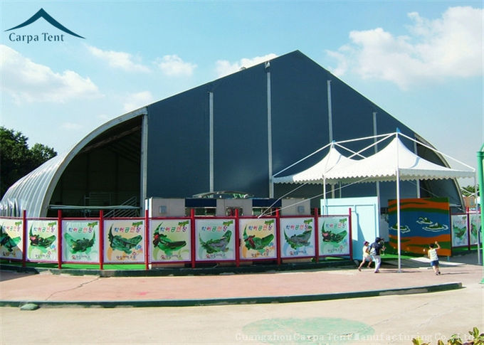 500 People Curved  Outdoor Party Tents 20m * 40m Wind Load 100km/h