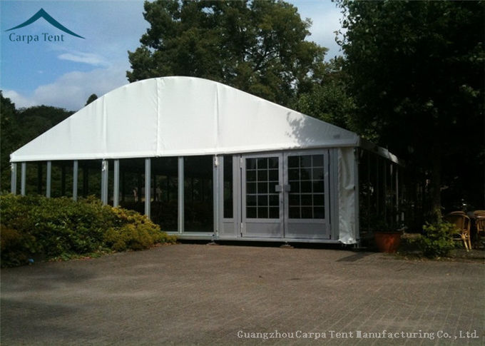 25m By 45m Dome Shape Aluminium Frame Tents Canopy For Opening Ceremonies