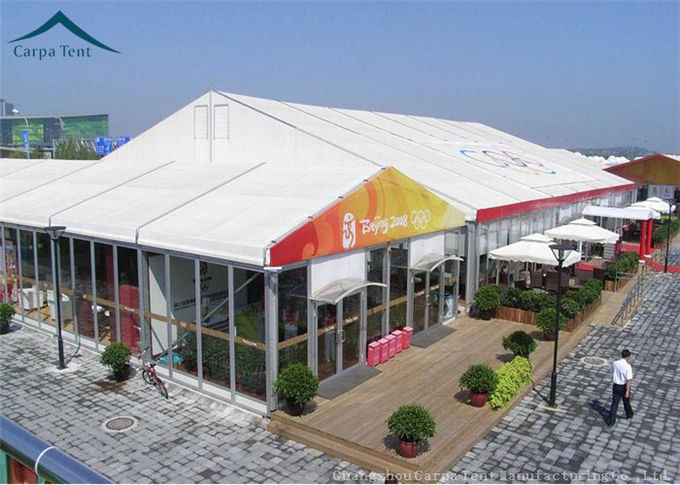 1200 Square Meter Gigatent Party Tent Canopy Clear Orange Black Blue