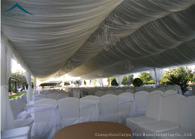 Large Scale Temporary Aluminium Frame Tents With Clear Windows For Function Banquet Export to South Africa