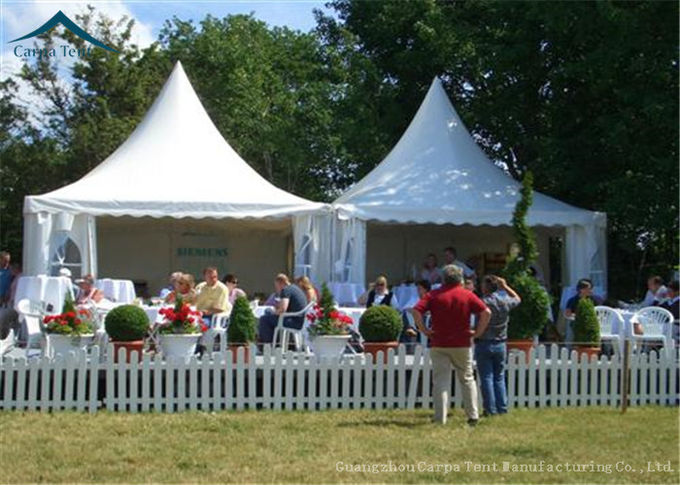 Small Pagoda Marquee Tents 5x5m 10x10m For Party Event And Exhibiiton