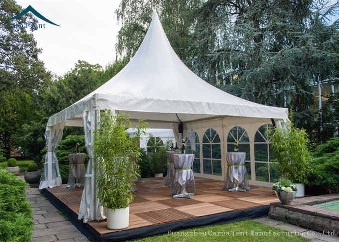 European Style Romantic Pagoda Event Tents For Outdoor Wedding, 10m By 10m White Canopy Tent