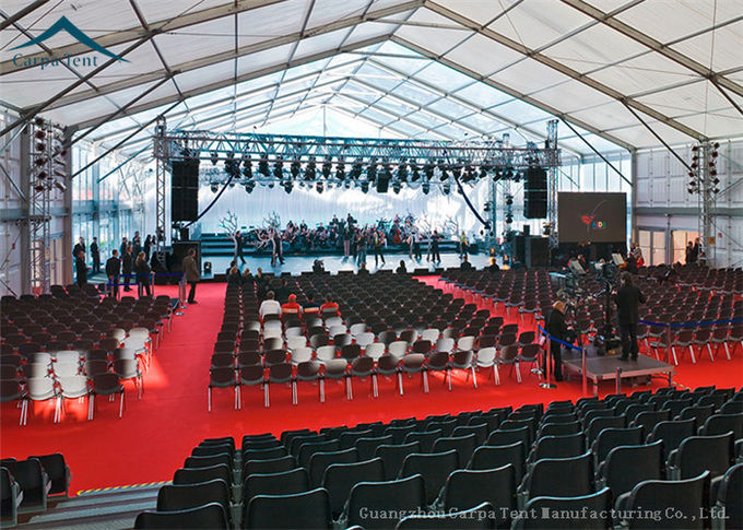Spaious Spaious Exhibition Event Tents For Party Solution / Workshop / Fashion Show