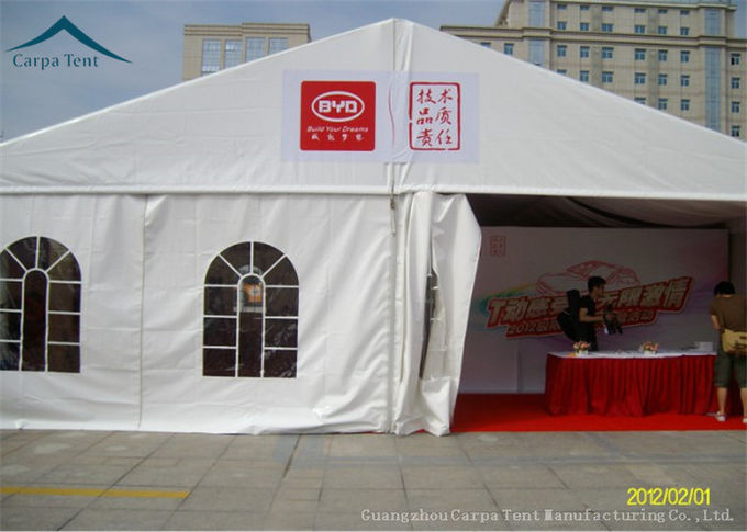 Heavy Duty Materials Custom Canopies Wind Load 100km/h For Commercial Reception