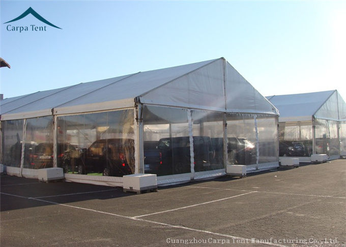 European Style Custom Canopy With Wooden Flooring For Outdoor Event , Customized Tents