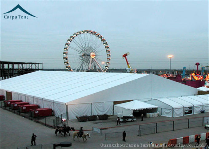 Glass Doors Big Exhibition Tents Roof Linings For 20m*60m Big Fair