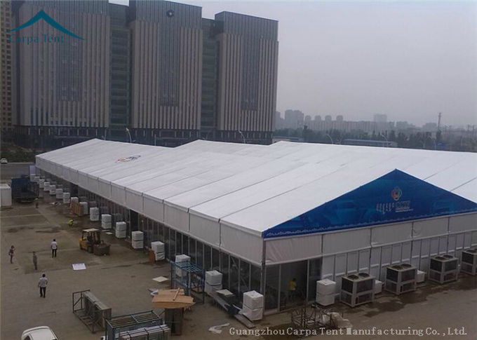 Widely Space 20m By 30m  Exhibition Tents  Hop - Dip Galvanized Steel