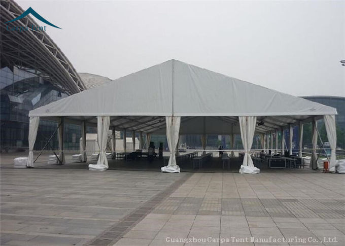 Large Fabric Clearspan Structure And Canopy Fire / Wind Resistant Over 100 People