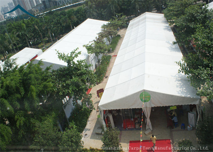 Conditioned  Exhibition Tents With PVC Fabric For Outdoor Commercial Trade Show Event
