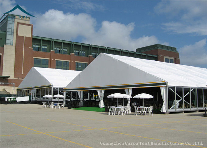 Large Outdoor Furniture Exhibition Tents Green Red For 1500 People